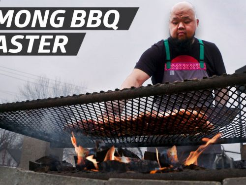 How Chef Yia Vang Honors Hmong Cooking With Open Fire Feasts