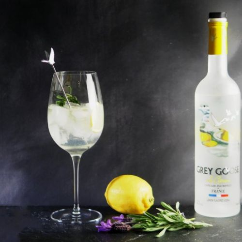 Le Grand Fizz with Grey Goose