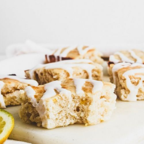 Soft-Baked Vegan Lemon Bars