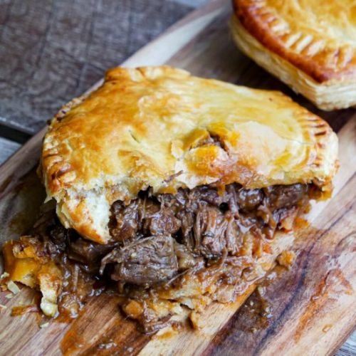 Classic chunky Aussie Meat Pies