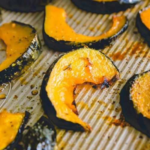 Maple Roasted Buttercup Squash