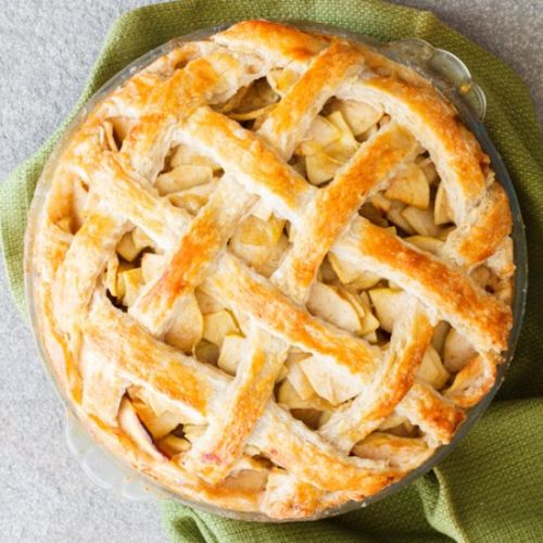Flaky All-Butter Pie Crust