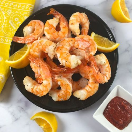Frozen Shrimp in Air Fryer