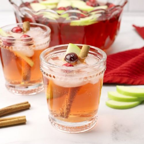 Sparkling Chai Christmas Punch