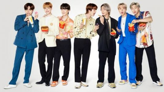 K-Pop Group BTS And McDonald's Launch Exclusive Meal And Clothing Line