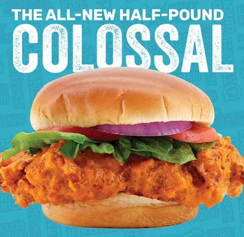 Wing Zone Enters Chicken Sandwich War with New Colossal Chicken Sandwich