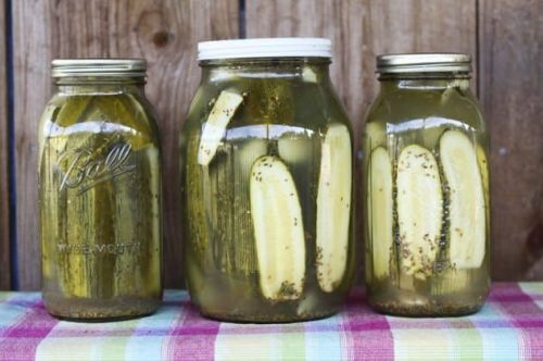Homemade Claussen Knock-Off Pickles