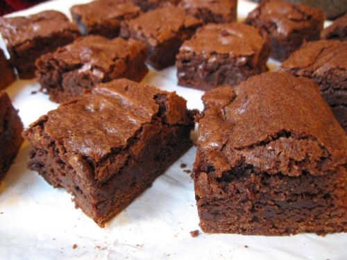 Thick Fudgy Brownies