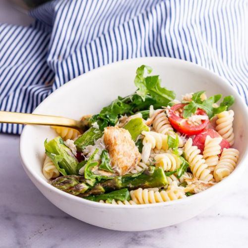 Smoked Mackerel Pasta Salad