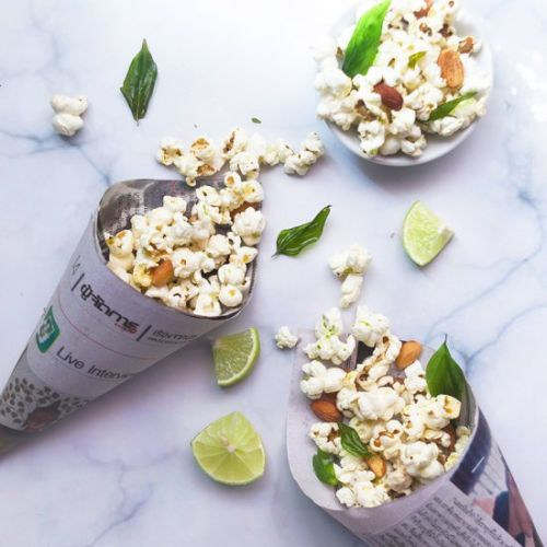 Savoury Asian Popcorn 3 Ways