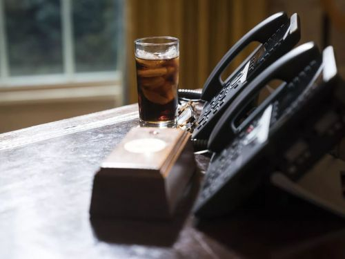 Former Staffers at Trump's D.C. Hotel Served the Ex-President a Diet Coke in Seven Absurd Steps