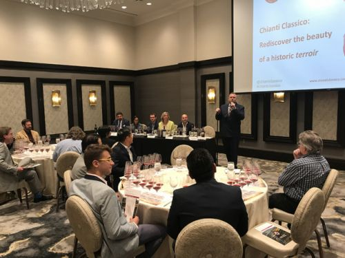 """""""There's a Chianti Classico that's just right for you."""" Jeffrey Porter's excellent Chianti Classico seminar and tasting"""