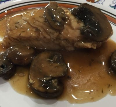 Weight Watcher Chicken Marsala