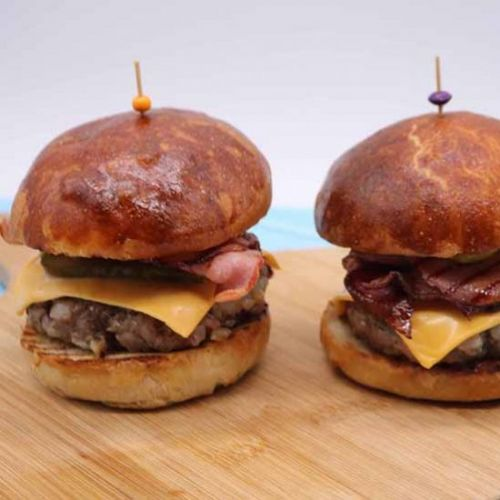 Steak and Bacon Burger