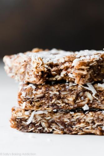 No-Bake Chewy Coconut Granola Bars