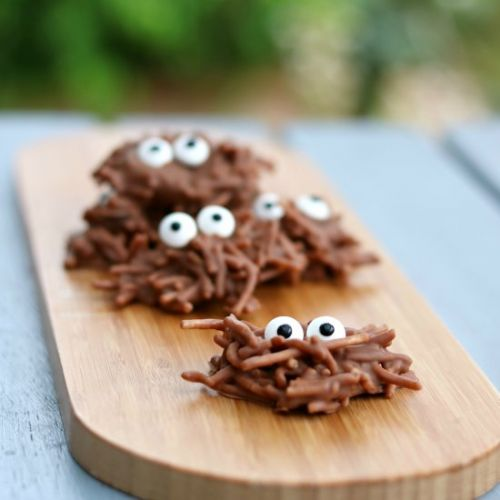 Chocolate Peanut Butter Spiders