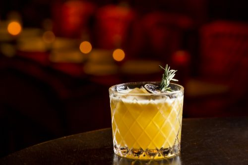 Whiskey Passion Cocktail