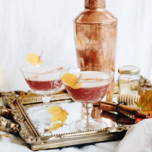 The Spiced Moon Martini