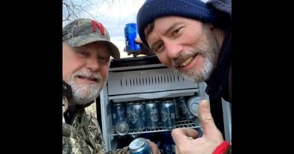 Fully-Stocked Beer Fridge 'From The Heavens' Found in Flooded Nebraska Field