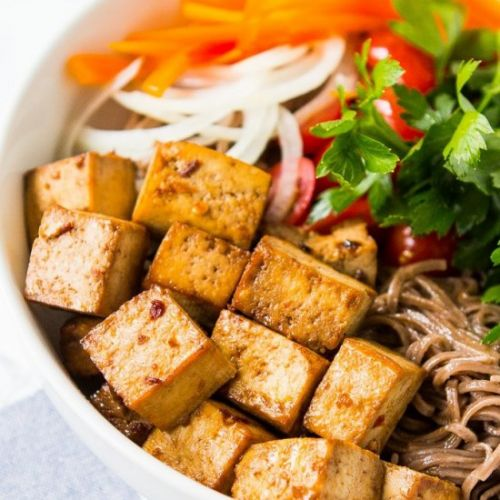 Baked Tofu Using Only 5 Ingredients