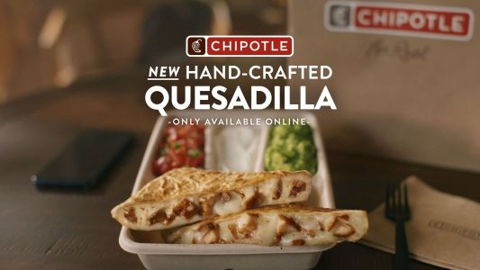 Chipotle Launches New Hand-Crafted Quesadilla as Its First Customizable Digital-Only Entree