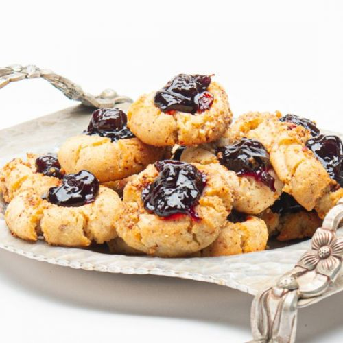 Thumbprint Cookies With Pecans