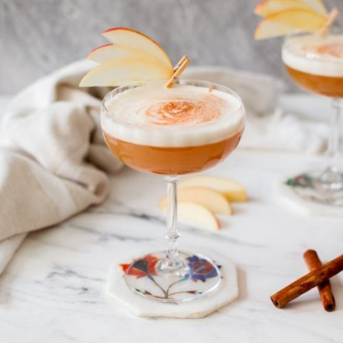 Apple Pie Bourbon Sour