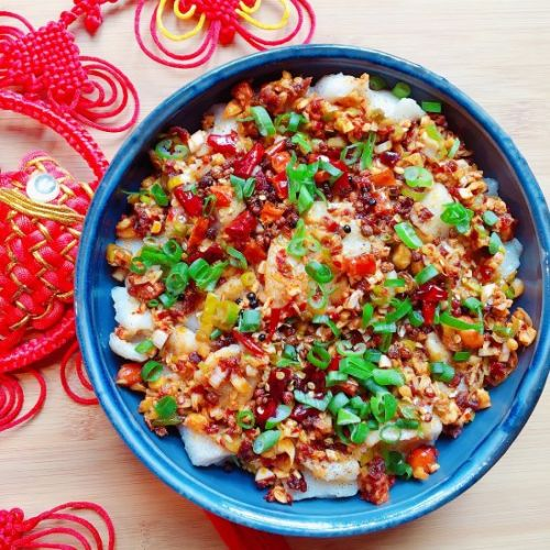 Chinese Sichuan Chili Boiled Fish
