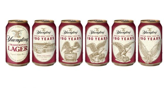 Yuengling Rolls Out 1800s-Era Cans, Bourbon Barrel-Aged Beer to Mark 190th Anniversary