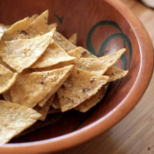 15-Minute Crispy Baked Tortilla Chips Are the Ultimate Homemade Appetizer