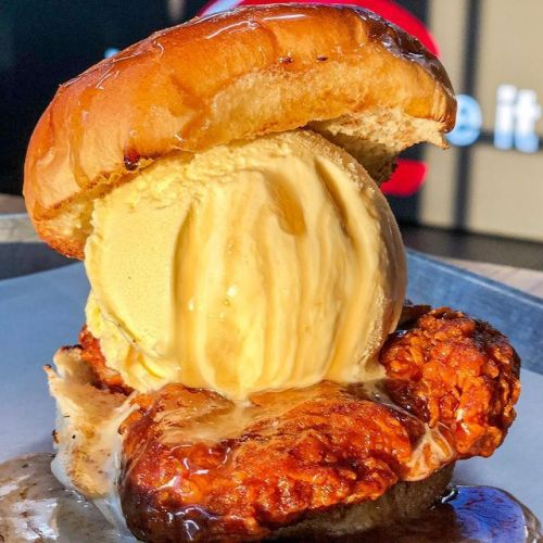 Gourmet Bay Area Burger Chain, iniBurger Debuts Nashville Hot Chicken & Ice Cream Sandwich Following Rave Reviews From Local Foodies!