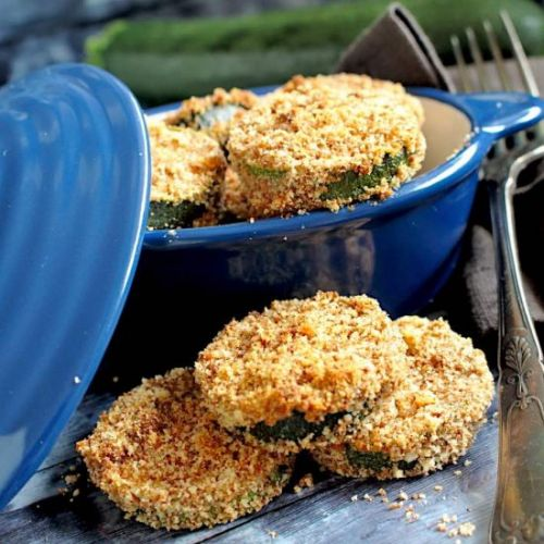 Baked Low Carb Zucchini