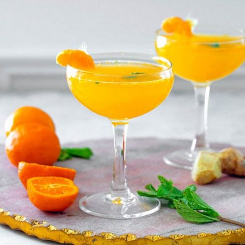 Clementine Ginger Cocktail