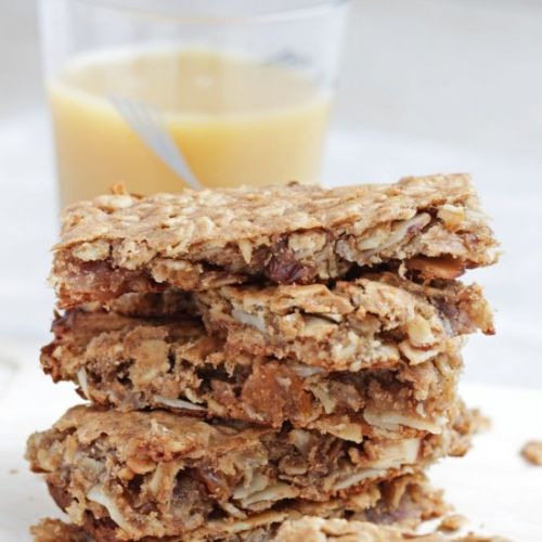 Flourless Banana Oat Breakfast Bars