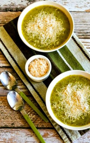 Zucchini and Yellow Squash Soup