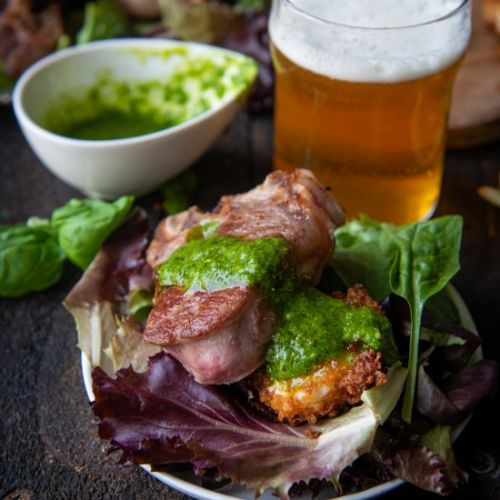 Beer Brined Lamb Chops