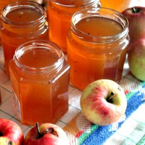 Apple Jelly with Bozze