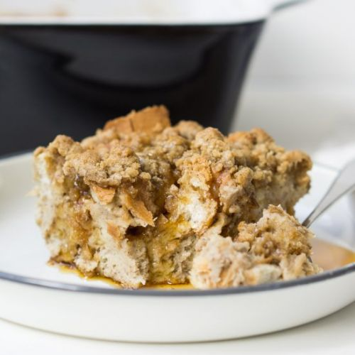 Chai Spiced French Toast Casserole