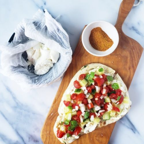 Naan and Ricotta
