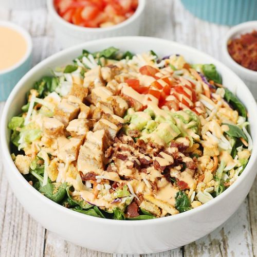 5-Min Southwest BLT Chicken Salad