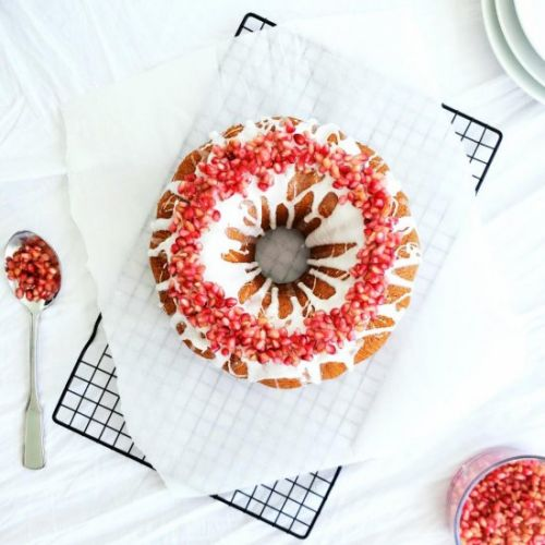 Bourbon Honey Bundt Cake
