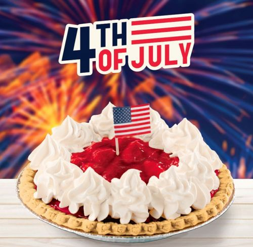 Shoney's Gets the Fireworks Started Early with its Specially-Priced Prize Dessert Whole Strawberry Pies To-Go - This Friday Through Sunday, July 4th