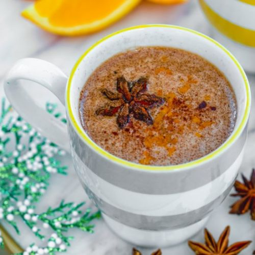Spiced Hot Buttered Rum