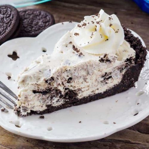 No Bake Oreo Cream Pie