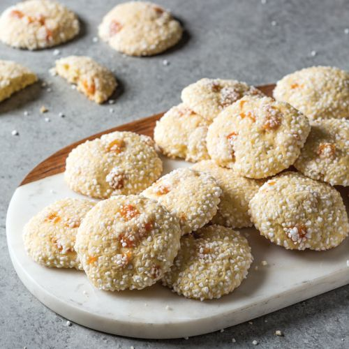 12 Days of Cookies: Bake From Scratch's Rolled Sugar Cookies with Brandy Soaked Apricots