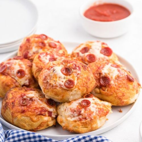Air Fryer Pizza Buns