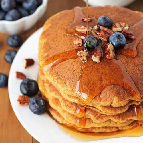 Gluten-Free Sweet Potato Pancakes