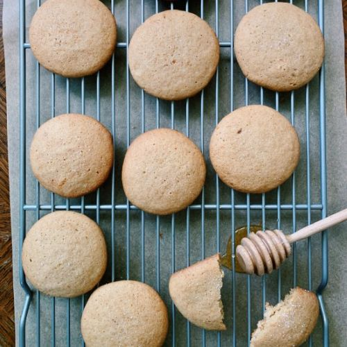 Honey Sea Salt Cookies
