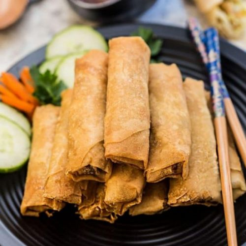 Authentic Chinese Spring Rolls