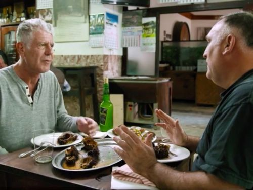 Watch Anthony Bourdain and José Andrés Engage in Extreme Feasting on 'Parts Unknown'
